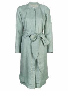 Partow belted dress - Green