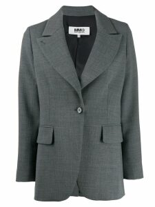 Mm6 Maison Margiela techno-wool blazer - Grey