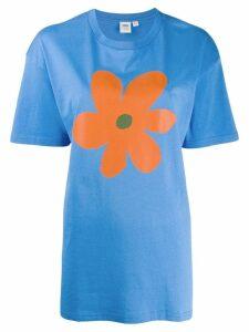 Vans flower print T-shirt - Blue