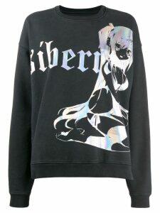 Siberia Hills Dark Queen printed sweatshirt - Black