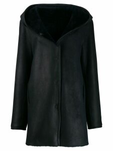 Liska Pace hooded coat - Black