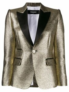 Dsquared2 metallic blazer - Gold