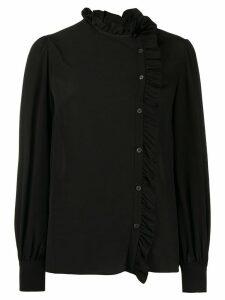 Miu Miu frill trim blouse - Black