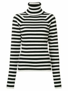 Haider Ackermann stripe turtleneck sweater - Black