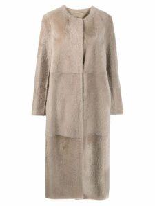 'S Max Mara longline coat - Grey