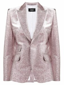 Dsquared2 glitter single breasted blazer - Pink