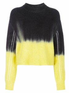 Proenza Schouler PSWL Dip Dye Crewneck Sweater - Green