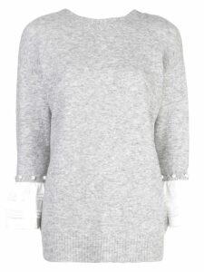 3.1 Phillip Lim layered sweatshirt - Grey