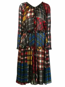 Dsquared2 multi-check pattern dress