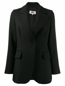 Mm6 Maison Margiela techno-wool blazer - Black