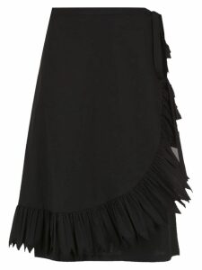 Reinaldo Lourenço mid-length skirt - Black