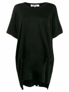 Mm6 Maison Margiela oversized T-shirt dress - Black