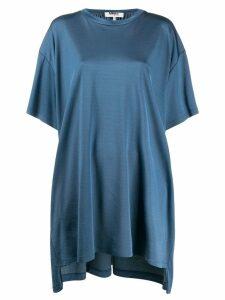 Mm6 Maison Margiela oversized T-shirt dress - Blue