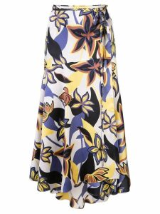 Alexis Kamari midi skirt - Yellow