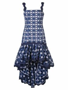 Alexis Krishn embroidered dress - Blue