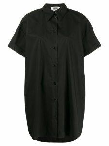 Mm6 Maison Margiela oversized shirt dress - Black