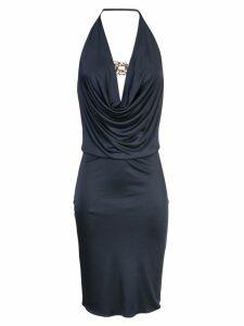 Haney Portia draped dress - Blue