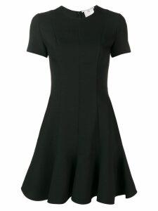 Stella McCartney short-sleeve mini dress - Black