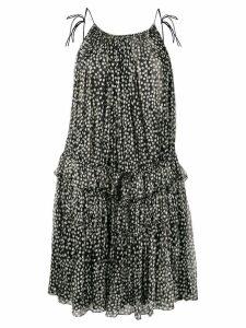Stella McCartney polka dot bouncy dress - Black