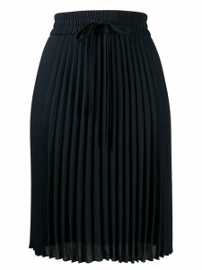 Red Valentino midi pleated skirt - Blue