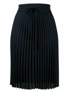 Red Valentino midi pleated skirt - Blue