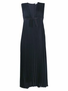 Red Valentino pleated midi dress - Blue