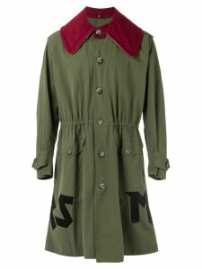 À La Garçonne vintage overcoat - Green