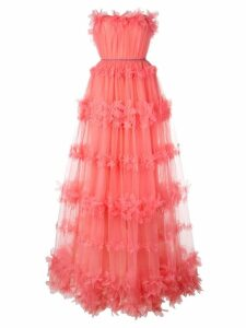 Marchesa Notte tulle dress - Pink