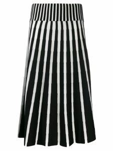 MSGM knitted midi skirt - Black