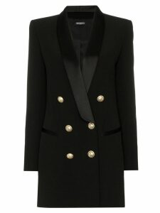 Balmain double-breasted blazer dress - Black