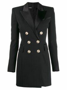 Balmain button-embellished mini dress - Black