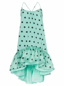 Silvia Tcherassi Brigid polka-dot print dress - Blue