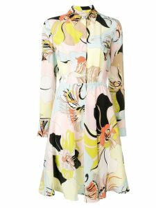 Emilio Pucci MIrabilis Print Shirt Dress - Pink