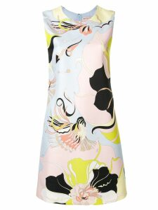 Emilio Pucci Sleeveless Mirabilis Print Mini Dress - Pink