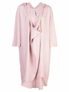 The Celect flared poncho dress - Pink