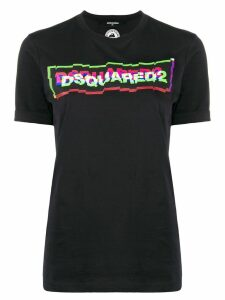 Dsquared2 3D-effect logo T-shirt - Black