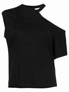 RtA Axel cut-out T-shirt - Black