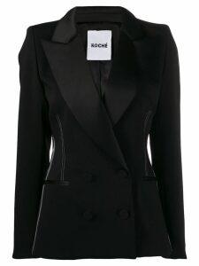 Koché super structured blazer - Black