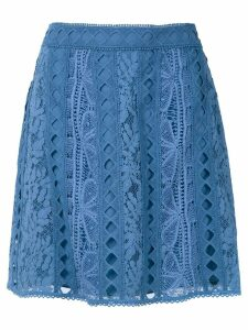 Martha Medeiros Alissa skirt - Blue