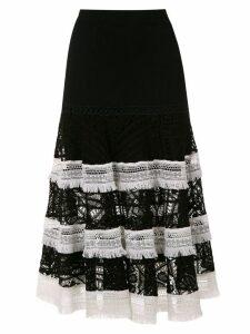 Martha Medeiros Renascença midi skirt - Black