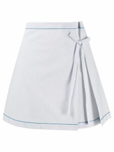 La Perla Ginko beach skirt - Blue