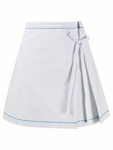 La Perla Ginko beach skirt - Blue