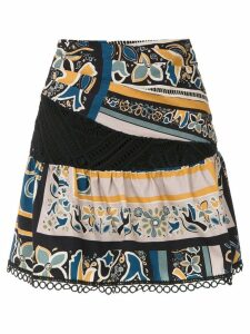 Martha Medeiros Sta. Monica printed skirt - Multicolour