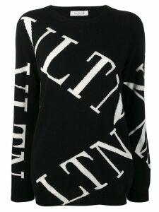 Valentino VLTN knitted jumper - Black