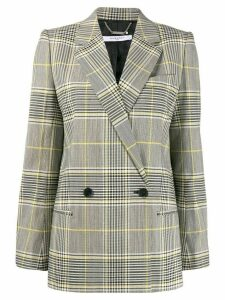 Givenchy double-breasted check blazer - Black