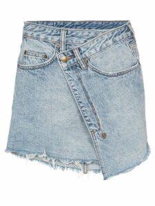 Ksubi Rap denim mini-skirt - Blue