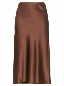 Joseph Frances slip pencil skirt - Brown