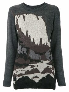 Alcaçuz Jardine knitted top - Grey