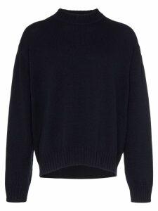 Jil Sander chunky knit jumper - Blue