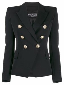 Balmain button-embellished blazer - Black